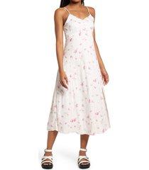 women's bp. cami midi dress, size x-large - pink