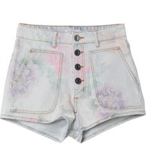 sandro denim shorts