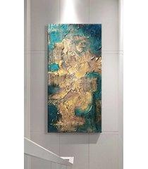 noble emerald - wielkoformatowy obraz art&texture
