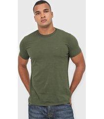 camiseta ellus logo verde