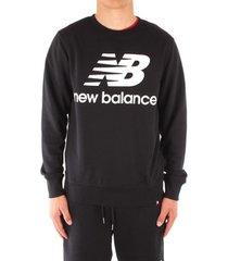 sweater new balance mt91548bk