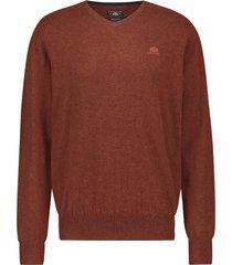 pullover state of art bruin v-hals