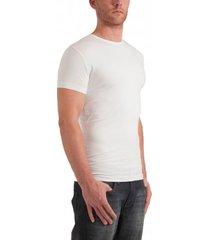 garage t-shirt regular fit o-neck white two pack ( art 0103)