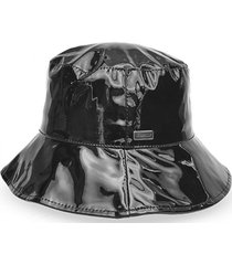 sombrero charol negro humana