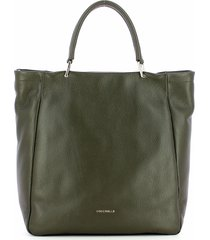 coccinelle green rendez-vous tote bag