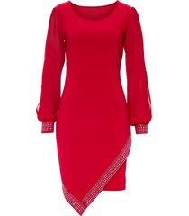 abito con strass (rosso) - bodyflirt boutique