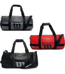 bolso de viaje deportivo wilson maleta de equipaje