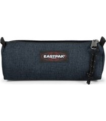 eastpak benchmark ek372 case unisex adult and guys denim