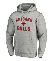majestic chicago bulls men's halpert heart and soul hoodie