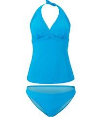 tankini (set 2 pezzi) (blu) - bodyflirt