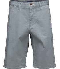 d1. relaxed twill shorts shorts chinos shorts blå gant
