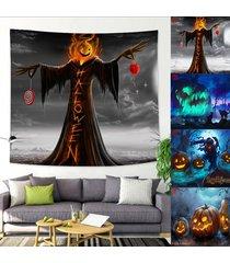 colgar de la pared de halloween tapiz fantasma asustadizo inicio salón dormitorio decoración del dormitorio 150x200cm - 150x200cm