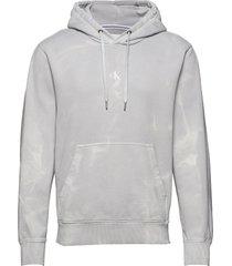 lava dye hoodie hoodie grå calvin klein jeans