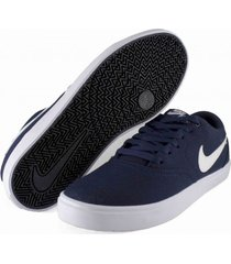 tenis azul nike sb check solarsoft canvas