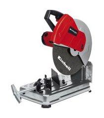 serra cortadora de metal einhell tc-mc 355 2300w preto e vermelho
