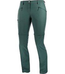 pantalón verde salomon wayfarer straight