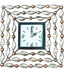 relã³gio kasa ideia de mesa diamante - dourado - dafiti