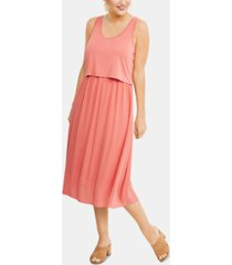 a pea in the pod maternity tiered nursing dress