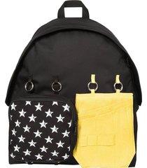 raf simons designer men's bags, raf simons x eastpak white star backpack