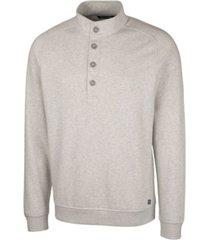 cutter & buck men's big and tall saturday mock sweatshirt