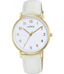 reloj análogo blanco lorus by seiko