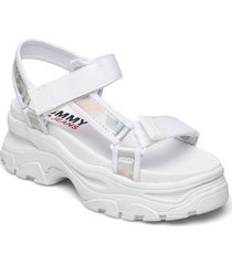 iridescent hybrid sandal shoes summer shoes flat sandals vit tommy hilfiger