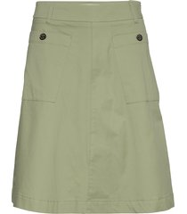 alice cole skirt knälång kjol grön mos mosh