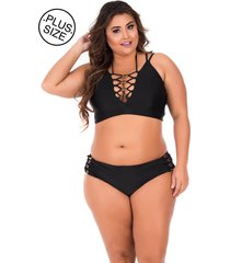 top cropped strappy b soul preto puro