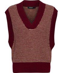 slmeredith vest vests knitted vests bruin soaked in luxury