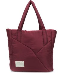 a-cold-wall* padded tote bag - red