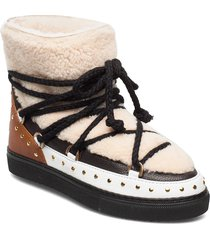inuikii sneaker curly rock shoes boots ankle boots ankle boot - flat beige inuikii