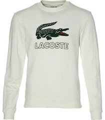 lacoste pullover - slim fit - wit