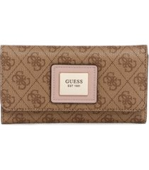 guess candace slim clutch wallet