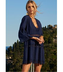 melissa odabash victoria cover up navy
