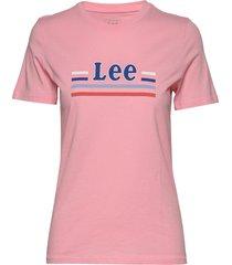 essential slim tee t-shirts & tops short-sleeved rosa lee jeans