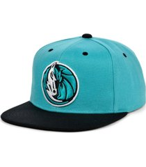 mitchell & ness dallas mavericks minted snapback cap