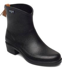 ai ms juliette bt2 noir regnstövlar skor svart aigle