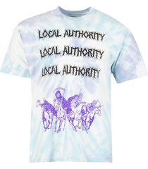 4 horsemen shop tee electric cloud blue