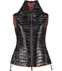 duvetica hooded body warmer jacket