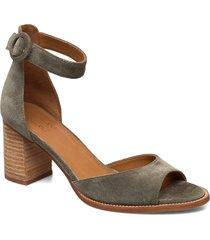 shoes sandal med klack brun billi bi