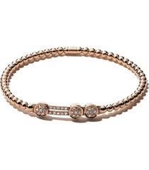 as29 alf 3-round extendable diamond bracelet - gold
