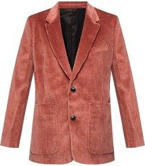 blazer with notch lapels