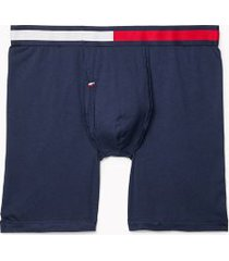 tommy hilfiger men's cool stretch boxer brief dark navy - s