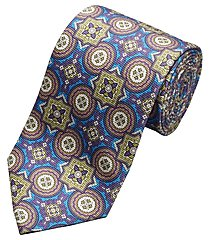 reserve collection round and square medallion tie