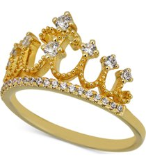 diamond tiara ring (1/3 ct. t.w.) in 14k gold
