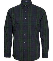d2. tp bc winter check reg bd overhemd casual groen gant