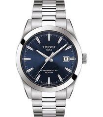 women's tissot t-classic gentleman powermatic bracelet watch, 40mm