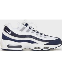 nike sportswear nike air max 95 essential sneakers navy/white