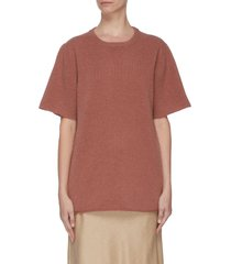 crewneck cashmere blend t-shirt