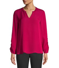 andie silk blouse